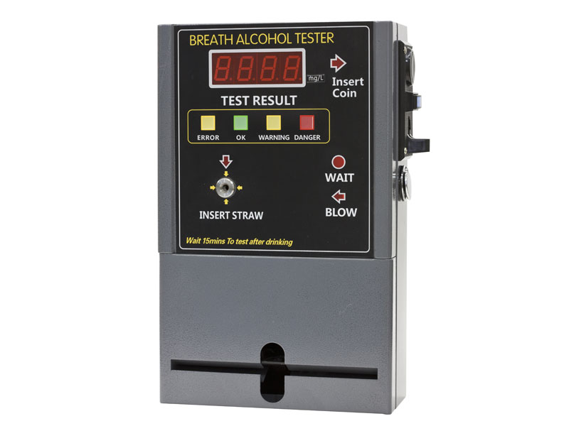 AT319 coin operated breathalyzer