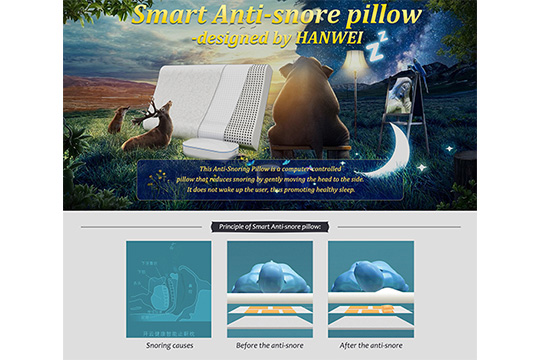 Smart Anti-snore Pillow